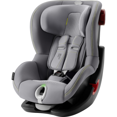 BRITAX RÖMER KING II LS Black Series - Cool Flow - Silver