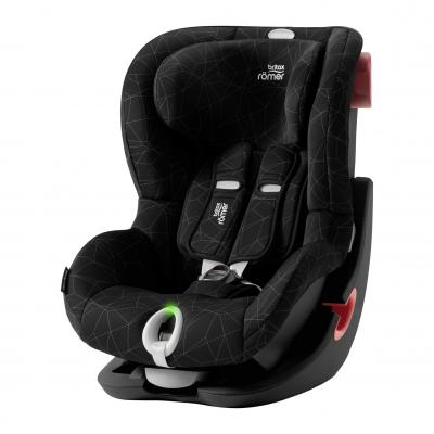 BRITAX RÖMER KING II LS Black Series - Crystal Black